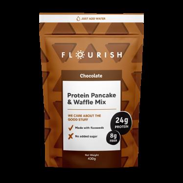 Flourish protein pancake & waffle mix