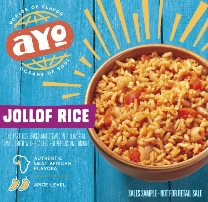 Image of AYO Foods packaging