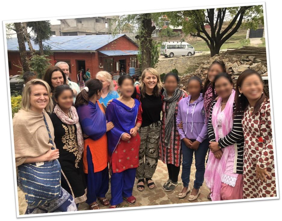 KeHE employees visiting Restoring Hope Nepal