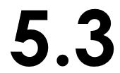 Graphic of the number 5.3.