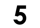 Graphic of the number 5.