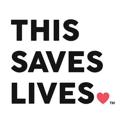 This saves lives Logo - KeHE CAREtrade partner