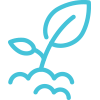 Natural chain retailers icon.