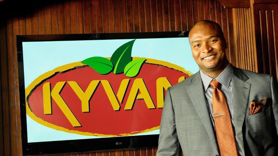 Reggie Kelly, Founder of KYVAN