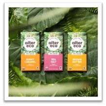 Alter Eco chocolate bars use regenerative agriculture