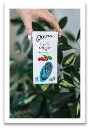 Oteas 100% plastic-free tea