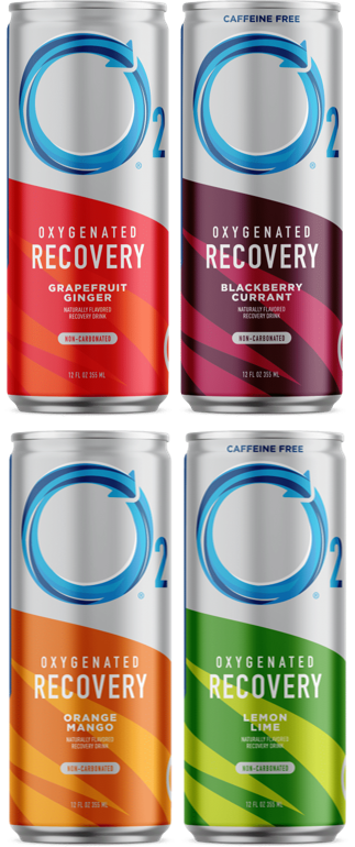 O2 Oxygenated Natural Recovery was created by a CrossFit trainer and a medical doctor who were sick of unhealthy sports and energy drinks. With electrolytes and added oxygen to help your body process toxins faster, O2 helps you recover from everything you give your all - your workout, your family, your job - so you can get back out there feeling refreshed, revitalized, and reborn.