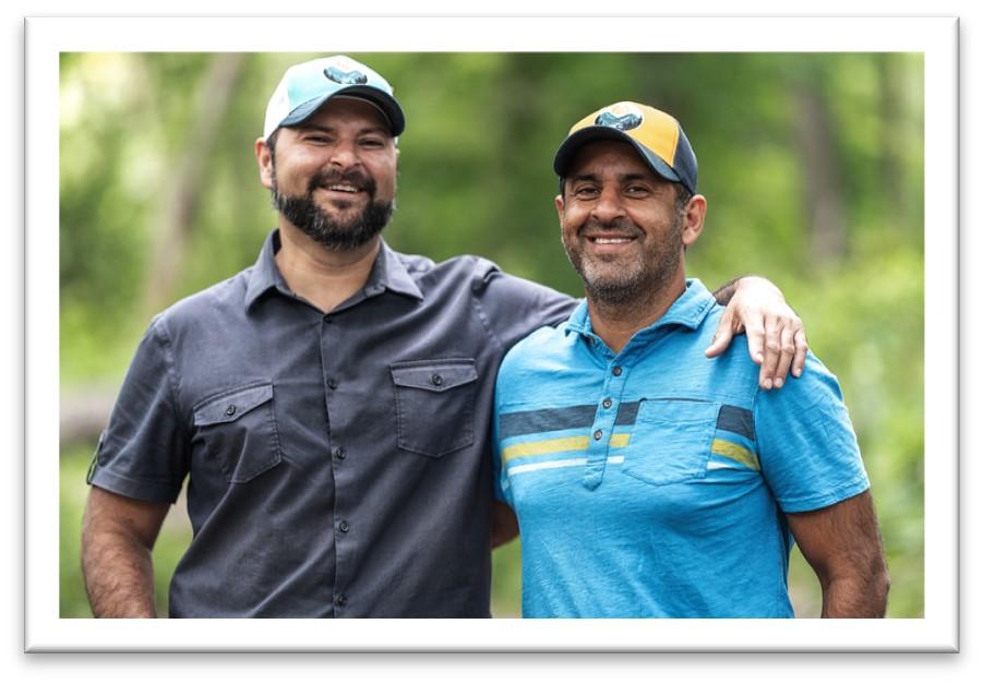 Founders of Zyn, brothers Asim and Qasim Khan