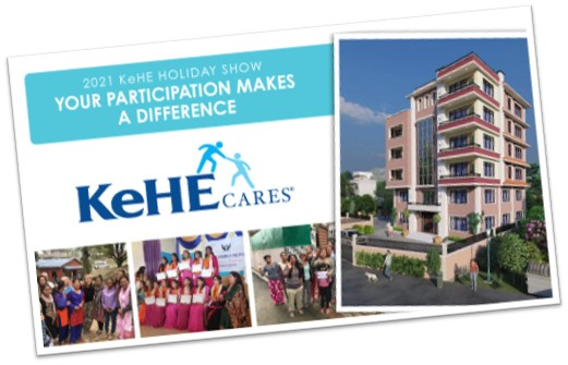 KeHE Cares donates $1 to furnish a new expanded safe house in Nepal