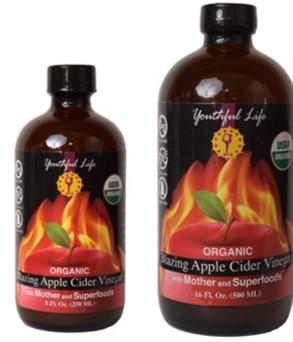 Youthful Life's Blazing Apple Cider Vinegar